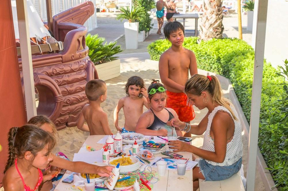 Animazione spiaggia Bambini